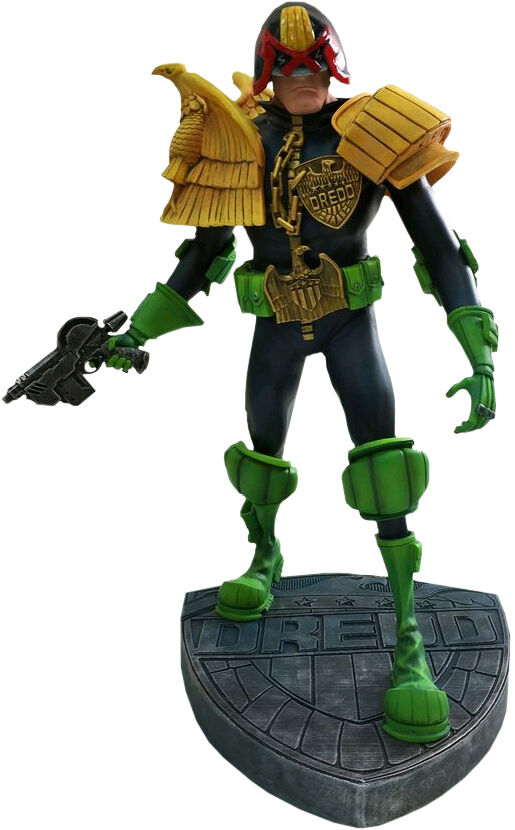 Judge DREDD-JUDGE DREDD PLACA BASE 12 ESTATUA/FIGURA DE (conjuntamente (conjuntamente (conjuntamente Plus) NEW 7be0ff