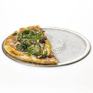 Aluminium-Mesh-Pizza-Screen-Baking-Tray-Bakeware-Cook-Pizza-Net-10-034-9126