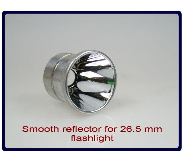 Aluminum smooth Reflector for UltraFire C8 Flashlight  #439