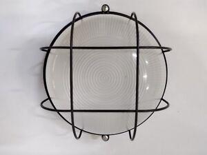 Plafoniere E27 Esterno : Plafoniera per esterno s g nera simes in alluminio acciaio e