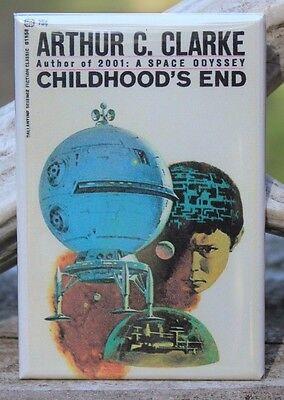 "Arthur Clarke 2001 A Space Odyssey Book Cover 2/"" X 3/"" Fridge Magnet"