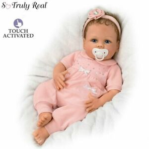 Cooing-Chloe-18-039-039-034-Breathing-034-Silicone-Baby-Doll-New-by-Artist-Linda-Murray