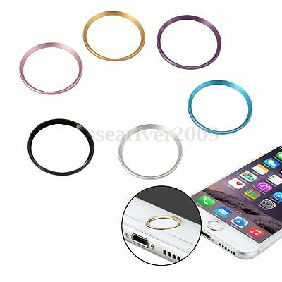 Metal Home Button Protective Case Cover Sticker Ring For Apple iphone 6/6S Plus