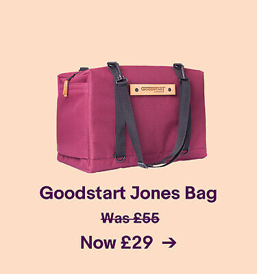 Goodstart Jones Bag Was £55 Now £29