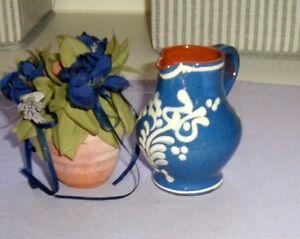 Keramik-kleiner-Krug-Weinkrug-Vase