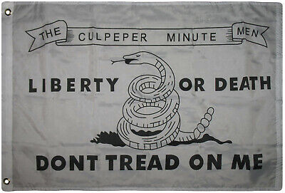 2x3 Gadsden Culpeper Culpepper Liberty or Death Dont Tread Tea Party Flag 2/'x3/'