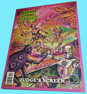 Mutant Crawl Classics #0 Judge/'s Screen  ADD/'L ITEMS SHIP FREE