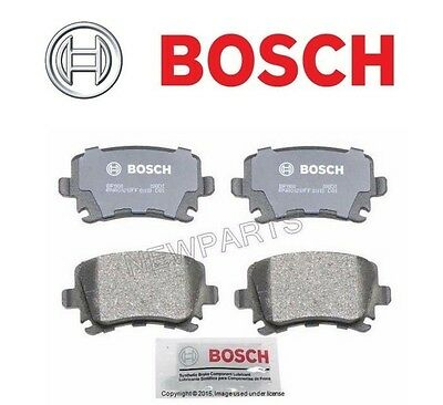 For Audi A6 2012-2014 Front /& Rear Disc Brake Pad Sets Bosch QuietCast