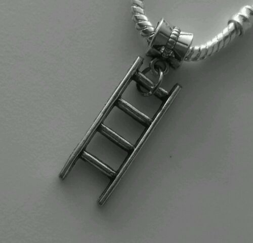 Ladder Construction Contractor Builder Tool Dangle Charm for European Bracelets