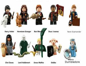 Harry-Potter-Mini-Figure-Fantastic-Beasts-Dumbledore-Dobby-custom-minifigures
