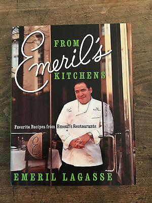 From Emeril's Kitchens, by Emeril Lagasse -2003- Signed 1st Ed,1st Ptg, H/C Book