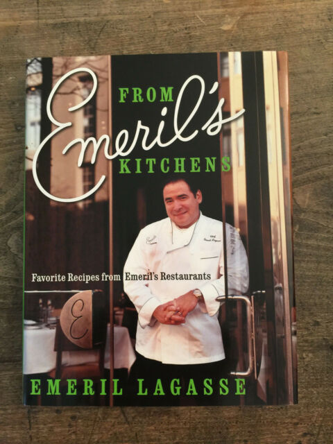 From Emeril's Kitchens, by Emeril Lagasse -2003- Signed 1st Ed,1st Ptg, H/C Book