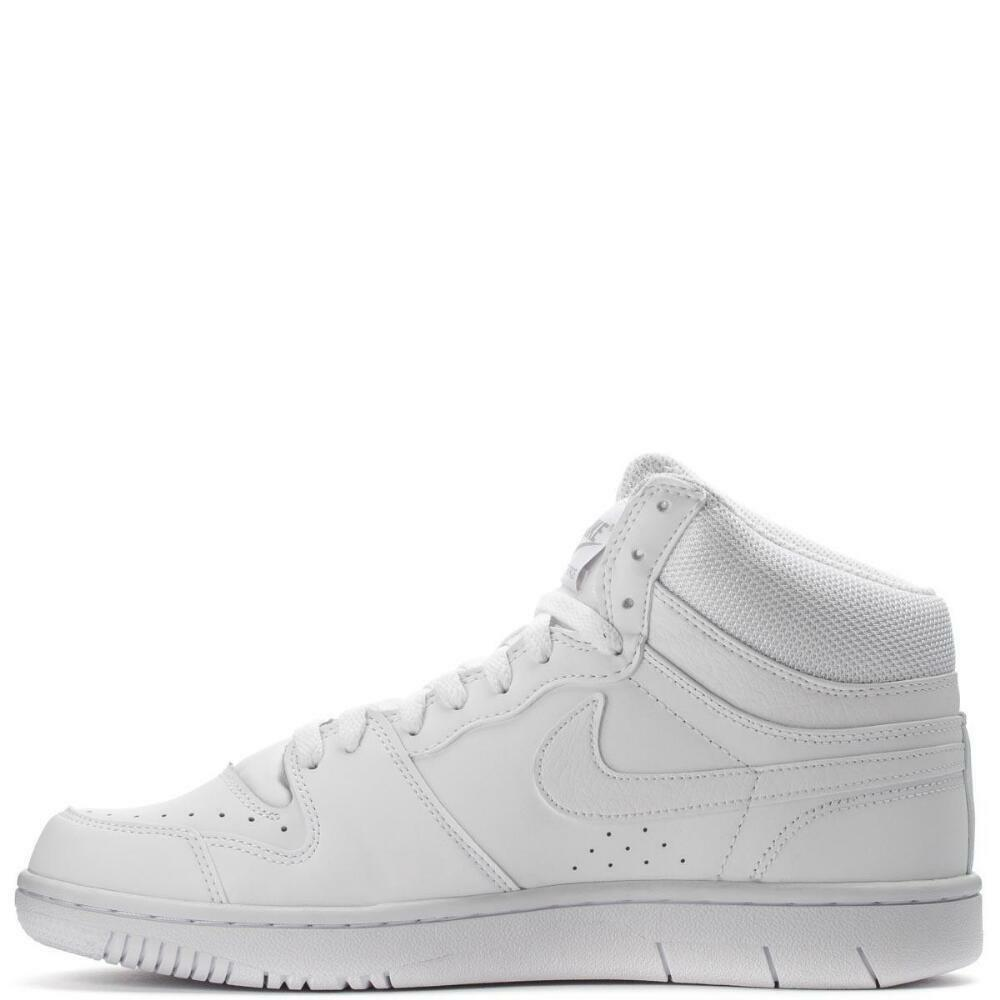 NIKE COURT FORCE HI ND SNEAKERS Uomo SHOES WHITE 457701-191 SIZE 11.5 NEW