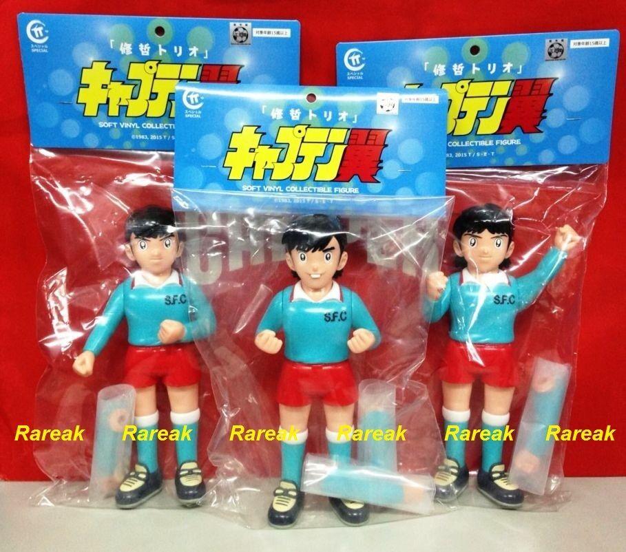 Capitán Tsubasa Kou Shou-do equipo shutesu Izawa, Kisugi & Taki Vinilo Figura 3 un.