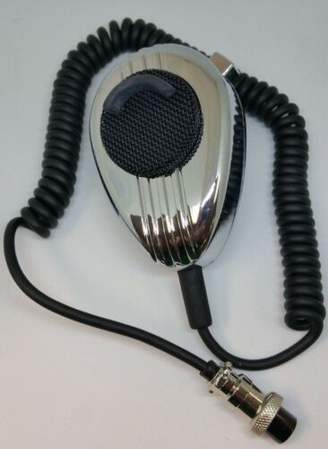WORKMAN SS56 6 PIN UNIDEN CB RADIO MICROPHONE CHROME NOISE CANCELLING