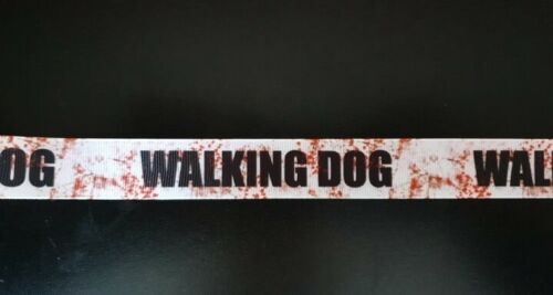 1622 Walking Dog 22mm Breite Eigenproduktion Ripsband Borte