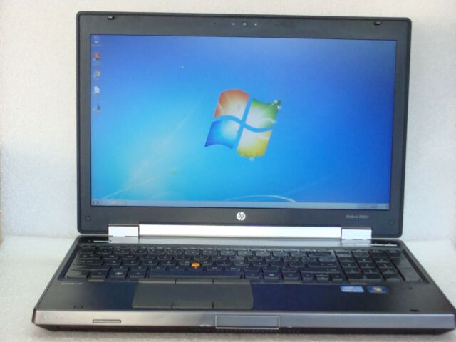 HP EliteBook 8560w QuadCore i7-2820QM 2.3GHz 8GB 250GB Win7 NVIdia Gaming Laptop