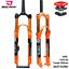 MTB-Bicycle-Fork-Magnesium-Alloy-Air-Suspension-26-27-5-29er-Inch-32-HL-RL100mm miniature 1