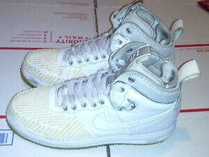 Nike-Men-s-Duckboot-LF1-Linen-Khaki-Leather-Sneakers-Size-9-5-805899-101