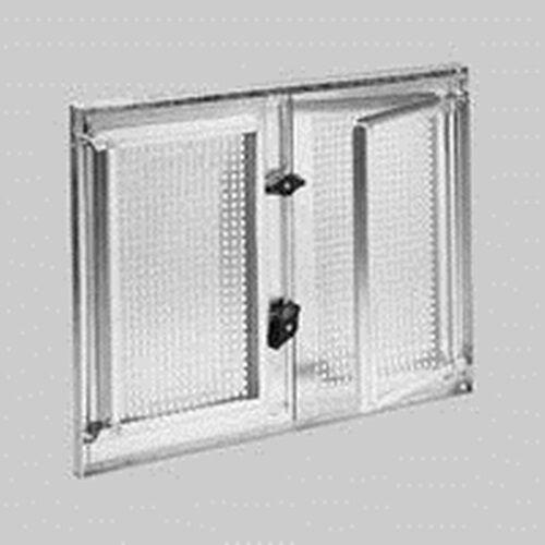 Stahlkellerfenster zweifl, verzinkt, 800 mm x 400 mm, 5mm ESG-Glas m. Befestieg
