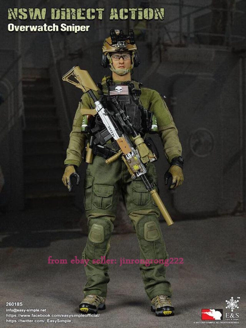 Easysimple Es26018s 1 6 Nsw Seal Sniper Sniper Limited Edition Figure Model Toy