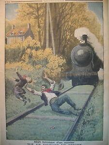 SAINT-JEAN-DU-VAR-TRAIN-CHEMINOT-SAUVETEUR-Gal-LASALLE-LE-PETIT-JOURNAL-1913