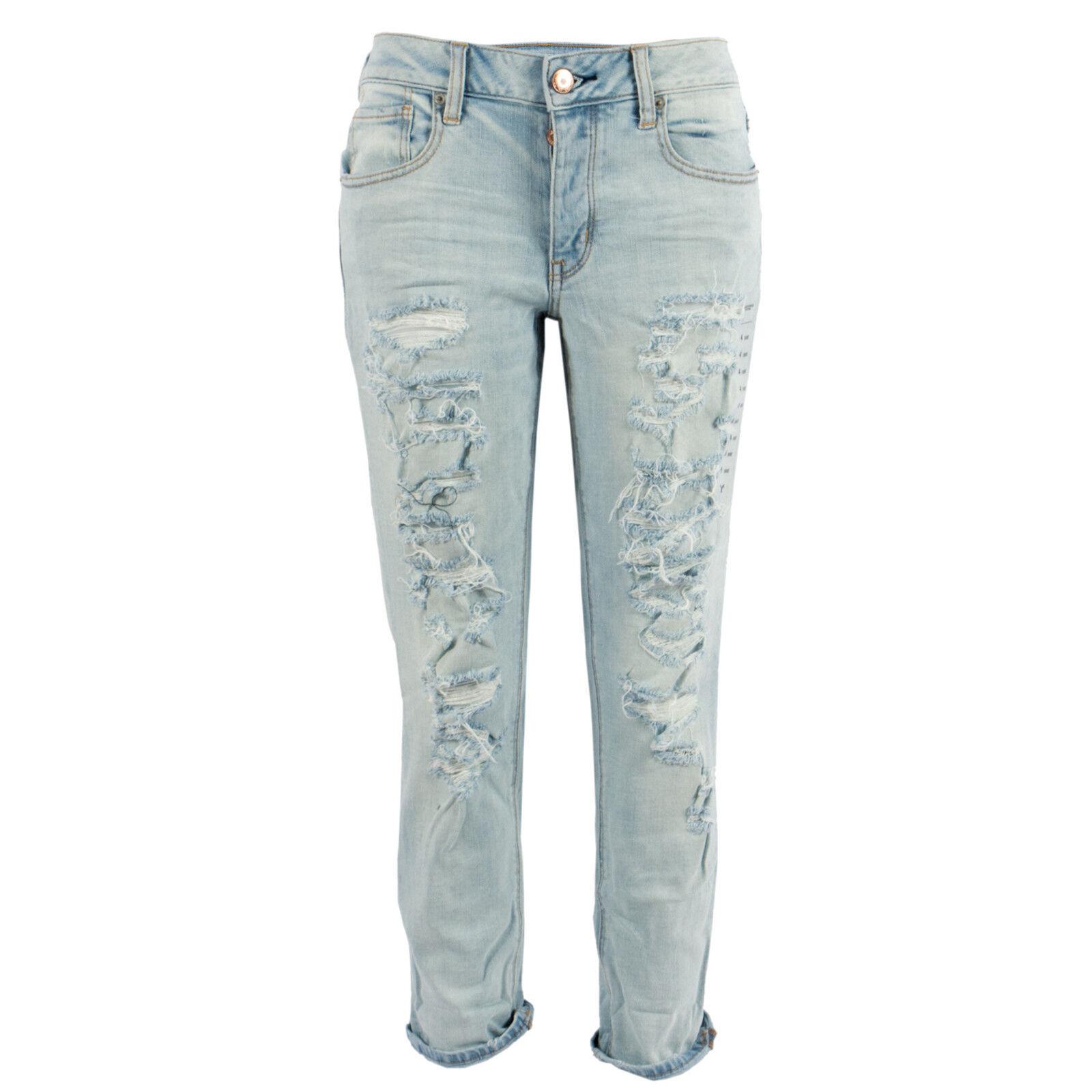AMERICAN EAGLE Damen Boyfriend Jeans 9438 Tomgirl Short   US 4 (36)   Ankle | Vorzügliche Verarbeitung  | Räumungsverkauf  | Sonderkauf  | König der Quantität  | Qualifizierte Herstellung