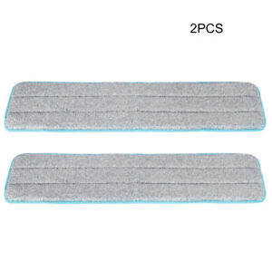 CleanWise® Grey and white croosed microfiber pad