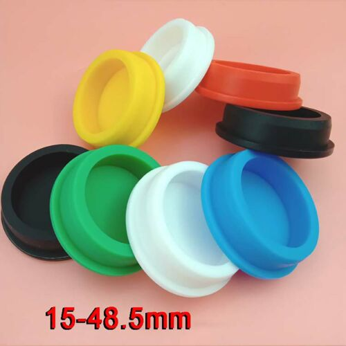 Silicone Rubber Blanking End Caps Pipe Tube Inserts Plugs Bung 15mm-48.5mm Color