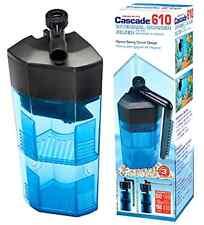 Aquarium Cascade Corner Water Filter Fully Submersible With Spray Bar Option