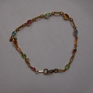 bracelet femme or et pierres