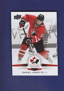 Daniel-Audette-SP-2014-15-UD-Hockey-Team-Canada-Juniors-119
