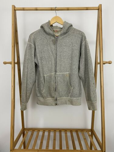 VTG Hanes Wind Shield 50s Full Zip Hoodie Heather