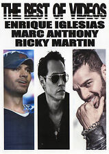 ENRIQUE IGLESIAS MARC ANTHONY RICKY MARTIN THE BEST OF VIDEOS 39 VIDEO HITS POP