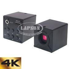 4k 1080p 60fps 8mp Hdmi C Mount Digital Industry Microscope Camera Lens Adapter