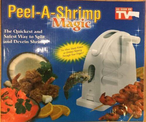 Shrimp Magic Peels and Deveins Shrimp Quick and Easy As Seen On TV Peel-