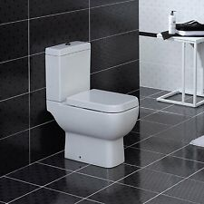 Compact Combine Bidet Short Projection Toilet Pan WC Cistern Soft ...
