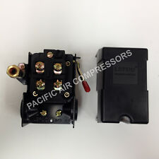 Pressure Switch 95 125 Psi Onoff Four Port 14 Fpt Fits All Small Compressors