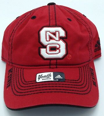 Ncaa North Carolina Stato Wolfpack Adidas Ragazzi Cappello Visiera Curva Con Careful Calculation And Strict Budgeting Basketball-other