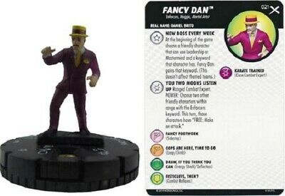 Fancy Dan M//NM with Card Marvel Earth X HeroClix 021