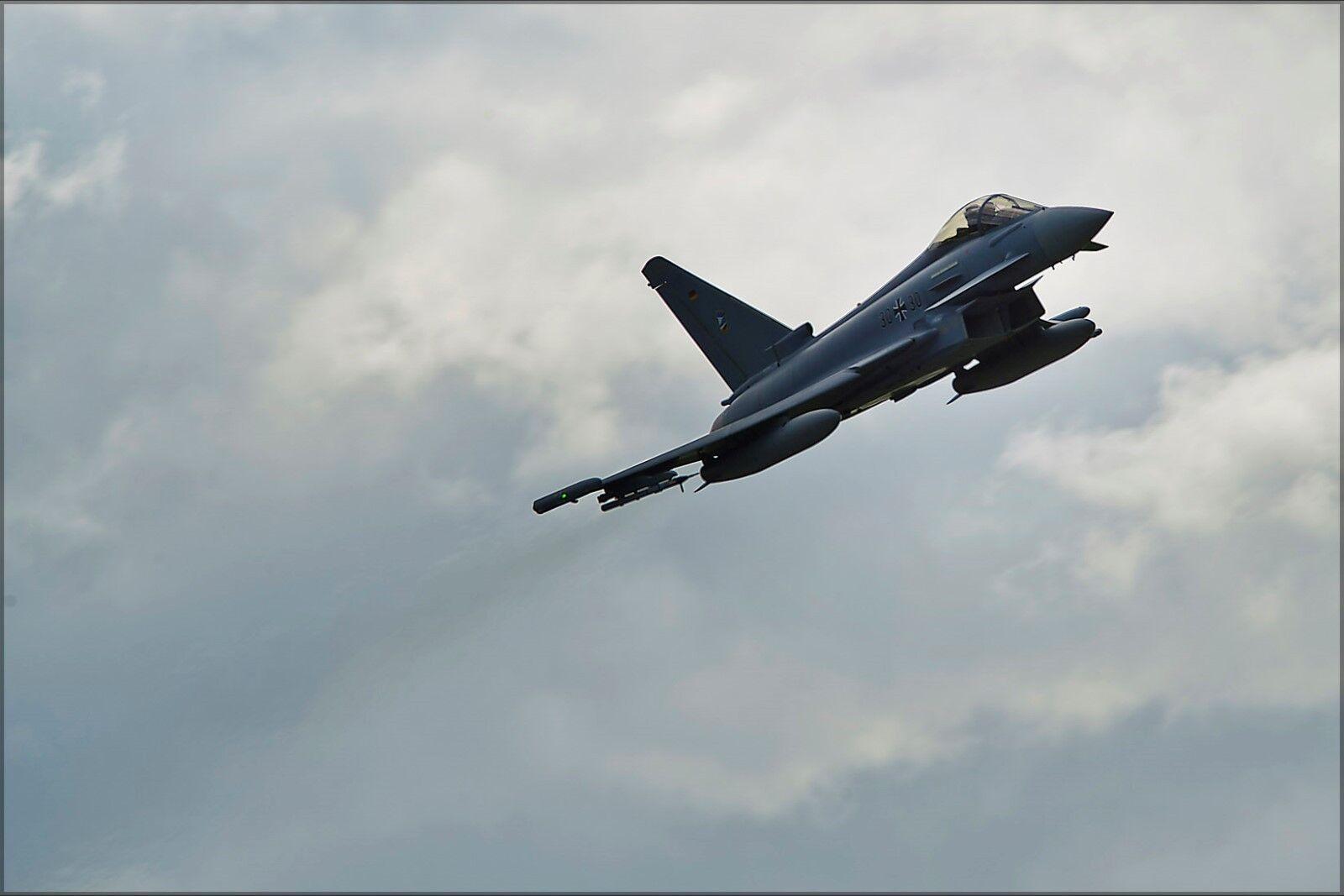 Poster,Molte Misure; 601078 Eurofighter Typhoon Typhoon Typhoon in Tedesco Service At Eielson c4972c