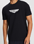 Top Gun Maverick Noir plexed UK T-Shirt Hommes Top Tee Blanc Logos devant et dos