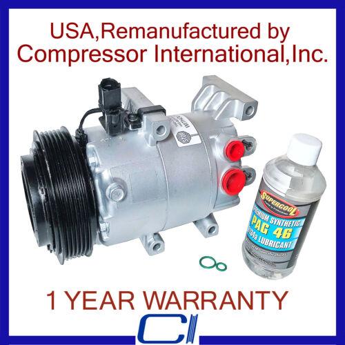 2012-2013 Soul 1.6L OEM Reman A//C Compressor