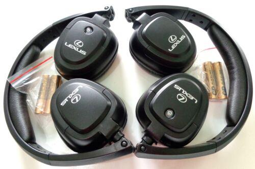 2 Latest OEM 2012-2017 Lexus LX570 LX 570 Car Rear Entertainment headphones