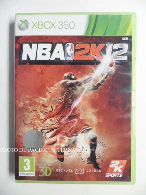 jeu NBA 2K12 pour XBOX 360 francais game spiel basket ball michael jordan X360