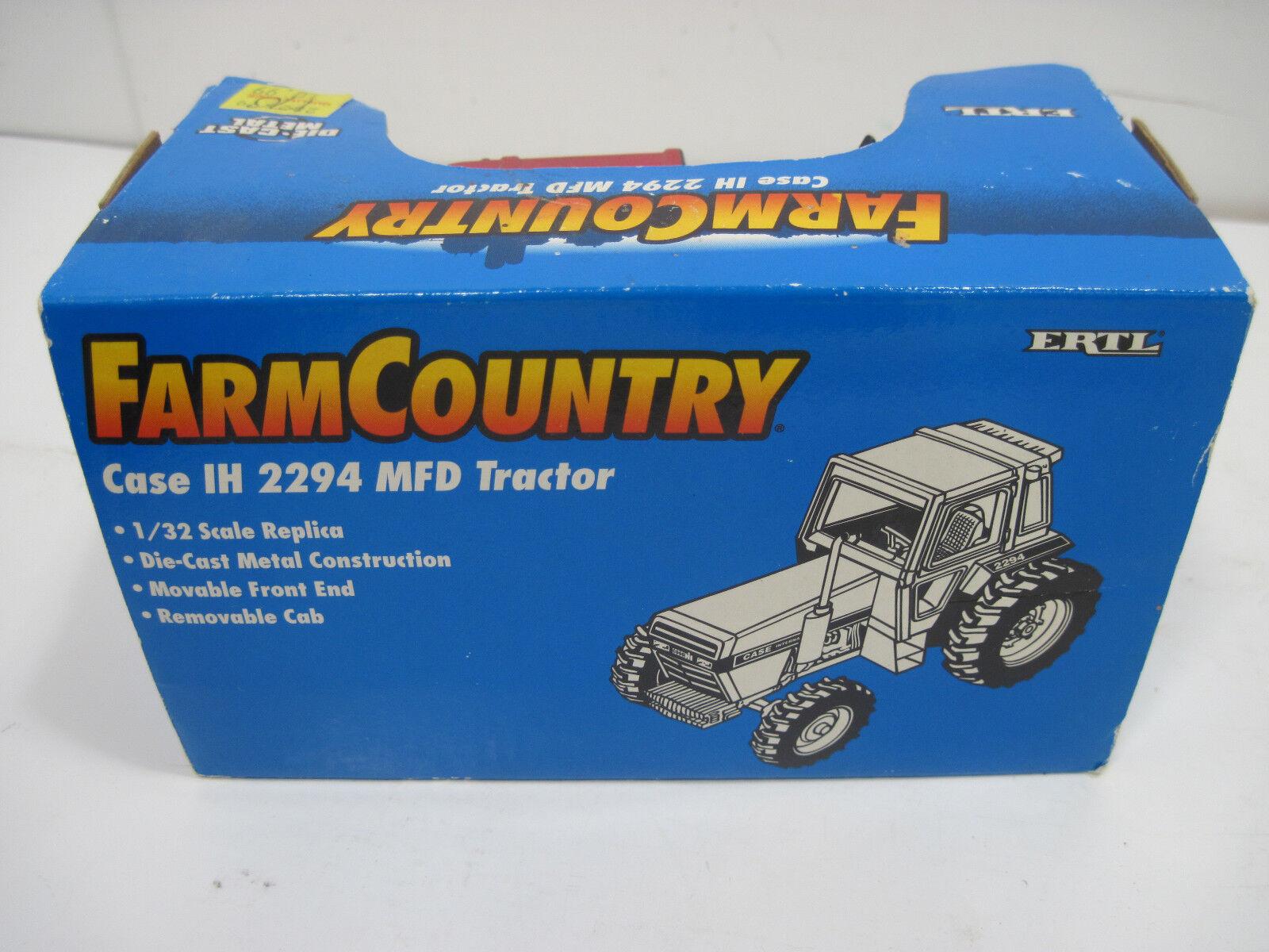 NIB ERTL IH INTERNATIONAL 2294 FARM TRACTOR WITH CAB CAB CAB DIE CAST FARM USA e66621