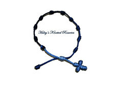 Knotted Rosary Bracelet - Blue Fade - Great Guarantee