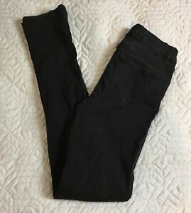 rue-21-Freedom-Flex-High-Waist-Skinny-Black-Stretch-Jeans-Women-Size-1-2-Reg