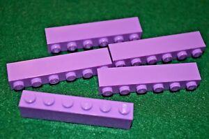 Lego 10x  Lavender Brick 1x8 NEW!!!