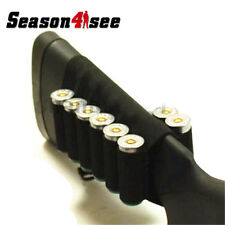 8 Ammo Round Shotgun 12 / 20 Gauge Shell Buttstock Holder For Hunting Shooting